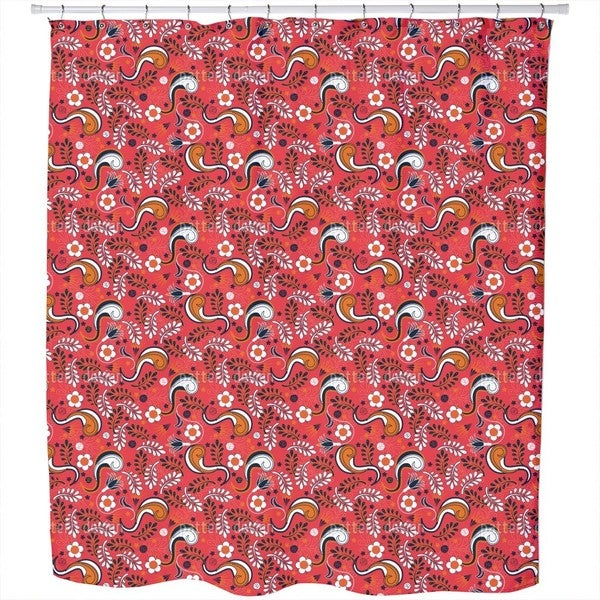 Flower Magic Shower Curtain