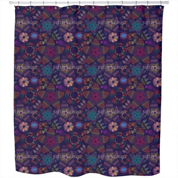 Flowerdance Shower Curtain