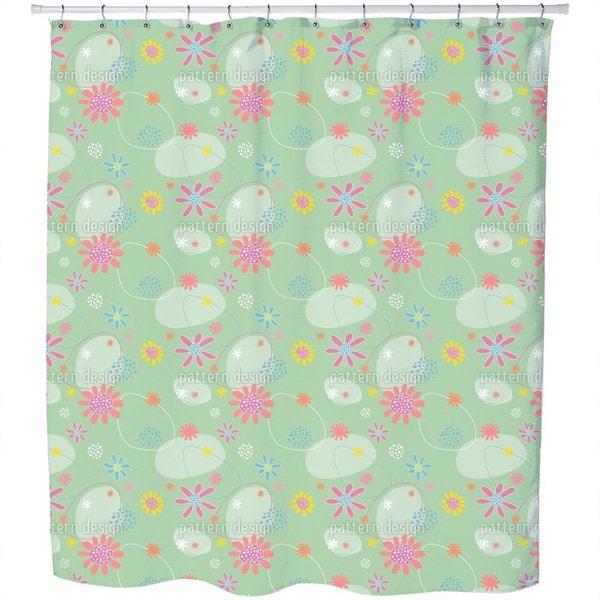 Flowers Astrid Shower Curtain