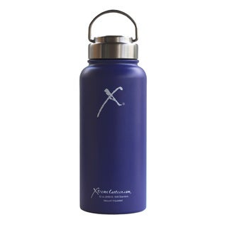 Xtreme Canteen- 32oz Double Wall, Vacuum Insulated, 18/8 Stainless Steel Wide Mouth Water Bottle w/ Stainless Steel Lid