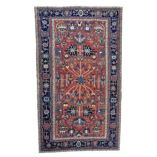 Antique Persian Serapi Gallery Size Mint Cond Rug (11' x 18'10)