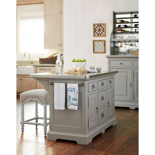 Dogwood The Kitchen Island in Cobblestone Finish