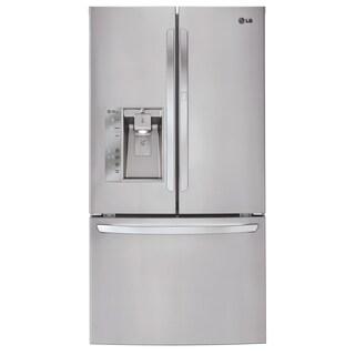 LG LFXS32766S 32-cubic Foot Mega-Capacity French Door Refrigerator with Door-in-Door in Stainless Steel