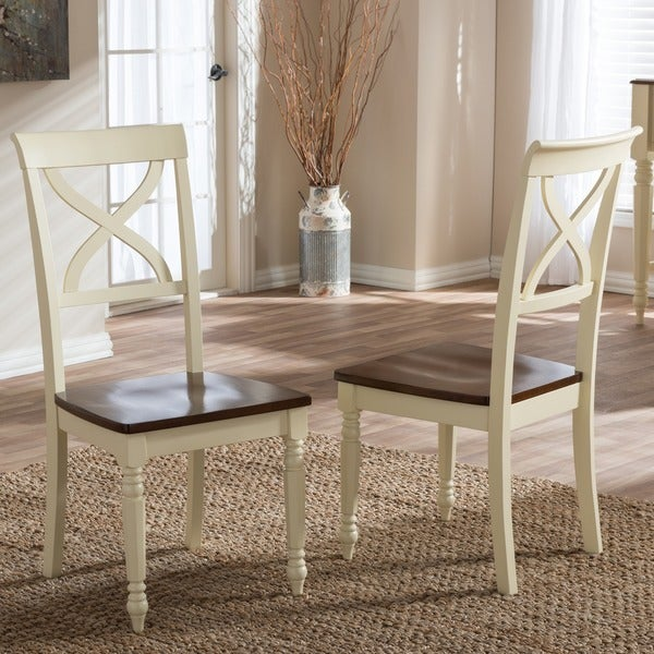 Why Adding A Rug Under Dining Table Sets Is A Must: Shop Baxton Studio Actaeon Modern Country Cottage