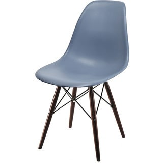 Molded Plastic Banks Chair with Eiffel-style Legs