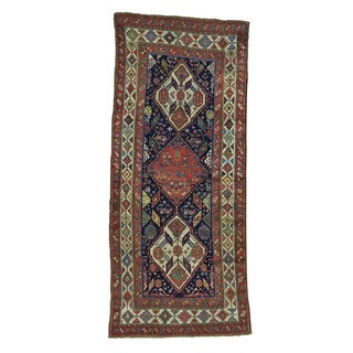 Antique Northwest Persian Wide Handmade Exc Cond Runner Rug (4' x 8'7)