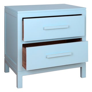 Porthos Home Gwen Double Drawer Side Table