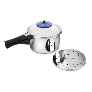 Kuhn Rikon Duromatic Anniversary Pressure Cooker 3.5-Quart Braiser (Stainless)