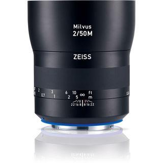 Zeiss Milvus 50mm f/2M ZE Lens for Canon EF