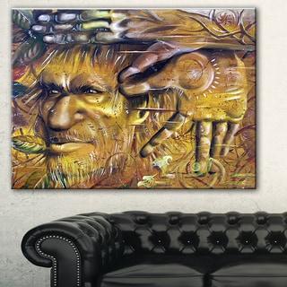 Designart 'Sylvan' Portrait Digital Art Canvas Print