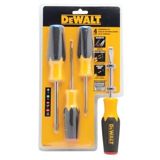 DeWalt DWHT62512 Screwdriver Set 4-count