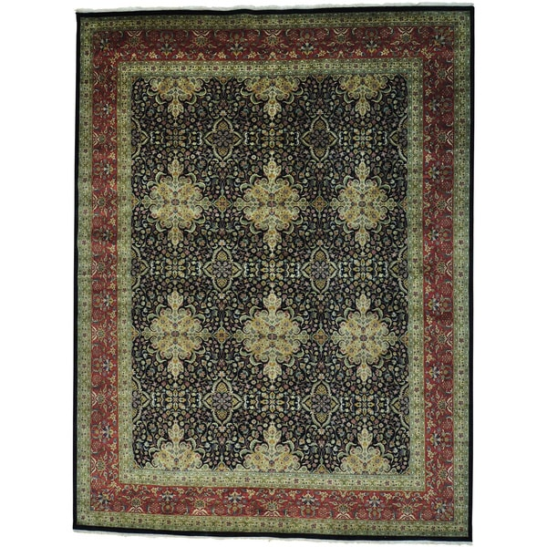 Kashan Revival 300 KPSI New Zealand Wool Oversize Rug (12'9 x 16'9)