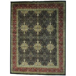 Kashan Revival 300 KPSI New Zealand Wool Oversize Rug (12'9 x 16'9)