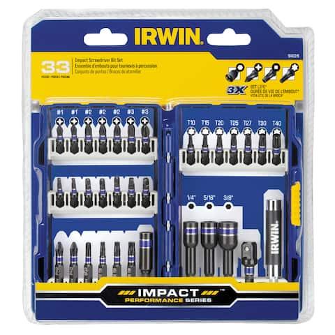Irwin IWAF1333 Fastener Drive 33 Piece Set