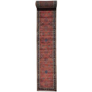 Sarouk 300 KPSI New Zealand Wool Oriental XL Runner Rug (3'1 x 30'7)