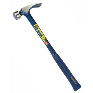 "Estwing E3-25SM 25 Oz 18"" Claw Hammer Metal Handle"