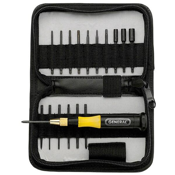 General 63518 18 Piece Precision UltraTech Screwdriver Set