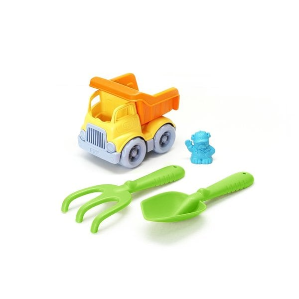Green Toys Sand and Water Play Dumper with Rake and Shovel