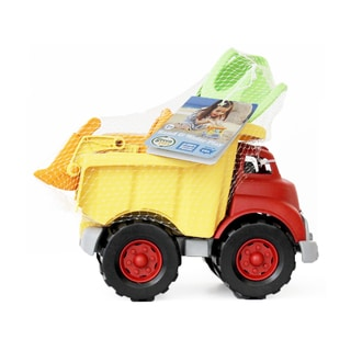 Green Toys Sand and Water Play Dump Truck with Scooper