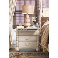 Paula Deen Home Drawer Nightstand in Linen Finish