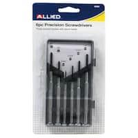 Allied International 65062 Precision Screwdriver Set 6 Piece Set