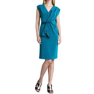 Elie Tahari Turquoise Dalia Dress