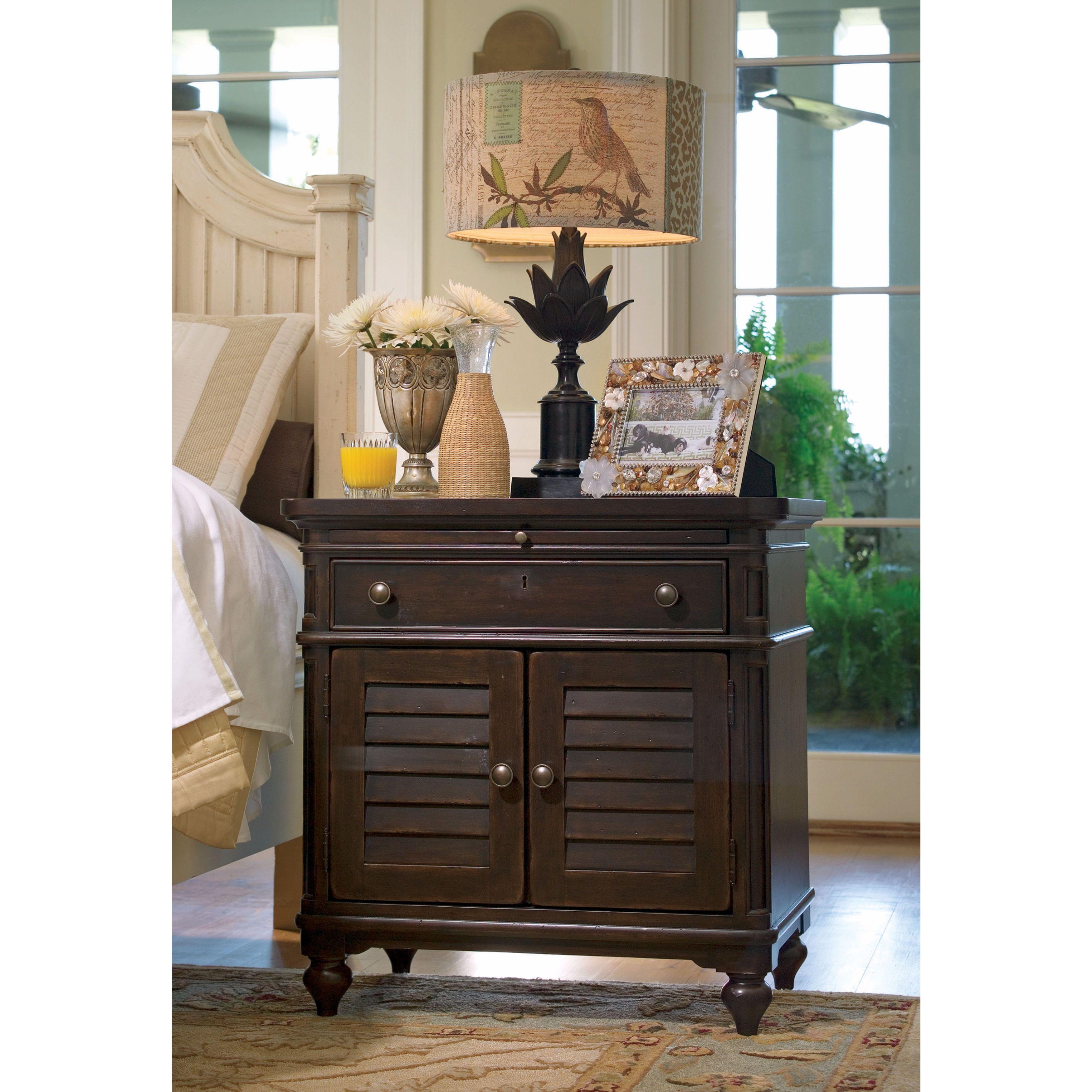 Image of: Shop Paula Deen Home Door Nightstand In Tobacco Finish Overstock 11622236