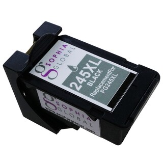 Sophia Global Compatible Ink Cartridge Replacement for PG-245XL with Ink Level Display (1 Black)