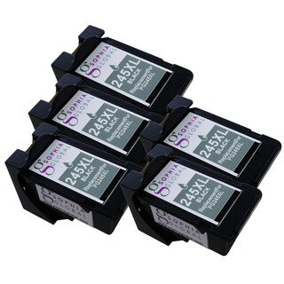Sophia Global Compatible Ink Cartridge Replacement for PG-245XL with Ink Level Display (5 Black)