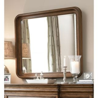 Pennsylvania House Cognac Landscape Mirror