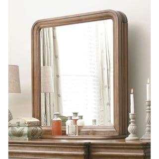 Pennsylvania House Cognac Vertical Storage Mirror