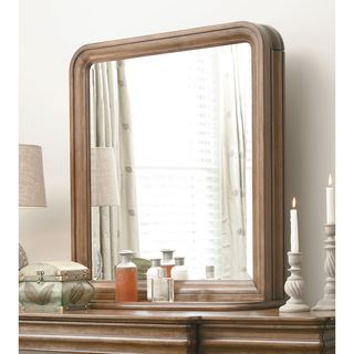 Pennsylvania House Cognac Vertical Storage Mirror - Brown