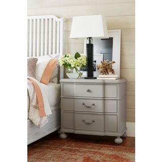 Dogwood Nightstand in Cobblestone Finish