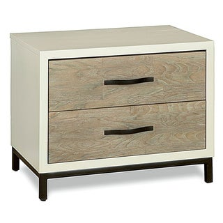 Spencer Bedroom Nightstand in Parchment Finish