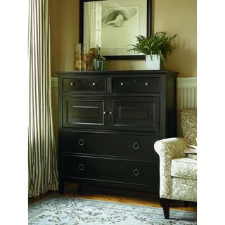 Summer Hill Dressing Chest in Midnight Finish