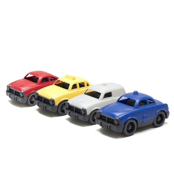 Green Toys Mini Vehicle (Pack of 4)