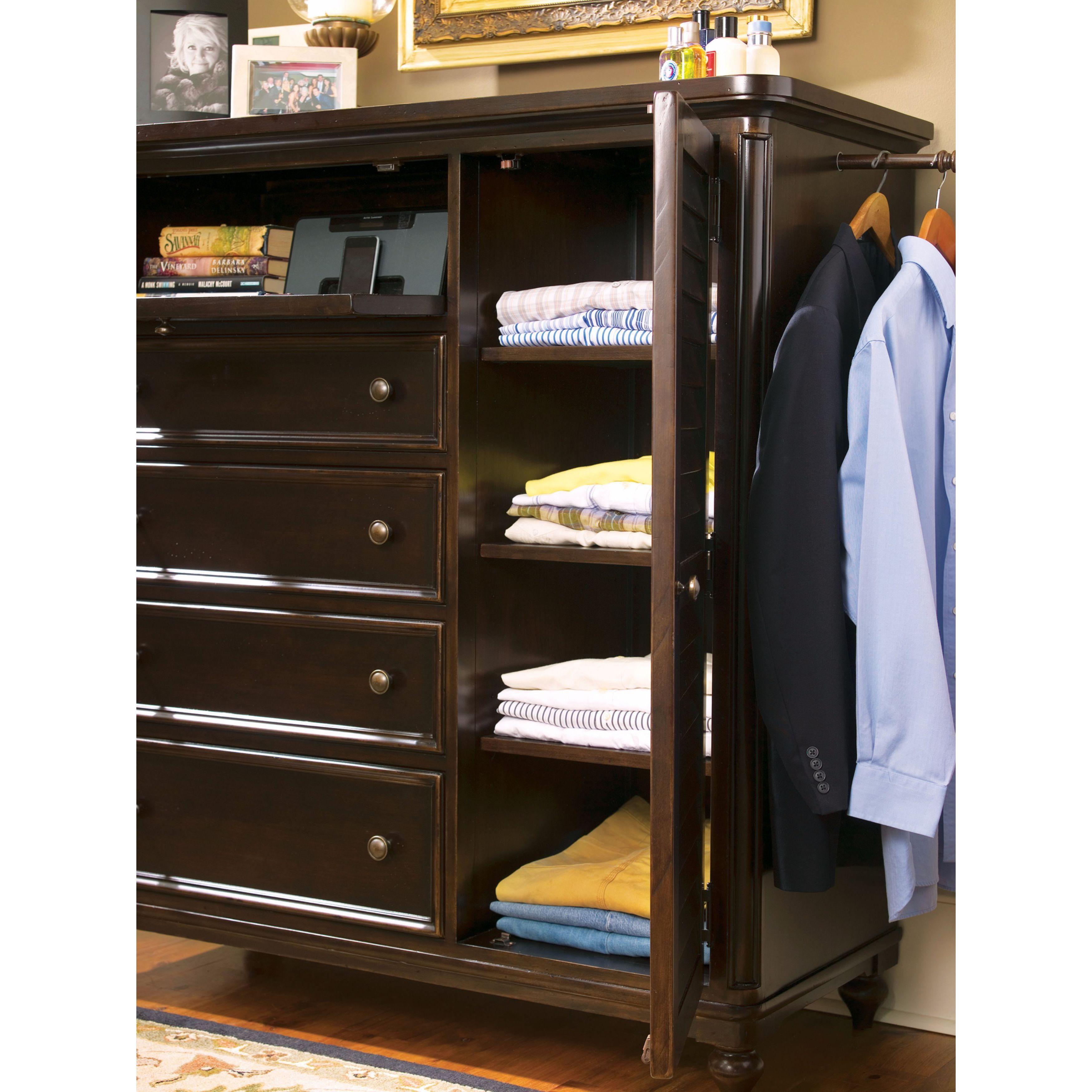 Image of: Shop Black Friday Deals On Paula Deen Home Door Chest In Tobacco Finish Overstock 11622561