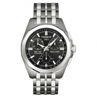 Tissot Men's T008.417.44.061.00 PRC 100 Chronograph Watch