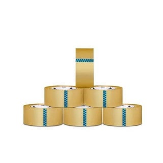 12 Rolls Carton Sealing Clear Packing/ Shipping/ Box Tape- 1.9 Mil- 3-inch x 110 Yards