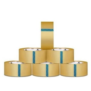 6 Rolls Carton Sealing Clear Packing 2 Mil Shipping Box Tape 3-inch x 110 Yards