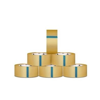 144 Rolls Clear Packing Tape Packaging Tape 3-inch x 110 Yards 330 Ft