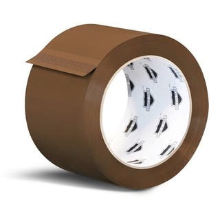 48 Rolls 3-inch x 110 Yards Tan Color Packing Tapes 2 Mil Shipping Tape (2 Cases)|https://ak1.ostkcdn.com/images/products/11622775/P18558133.jpg?impolicy=medium