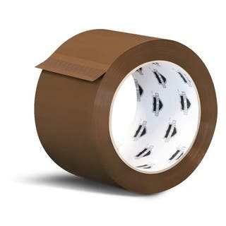 24 Roll / Case Brown Tan Acrylic Packing Tape Shipping 2 Mil 3-inch x 110 Yards|https://ak1.ostkcdn.com/images/products/11622817/P18558140.jpg?impolicy=medium