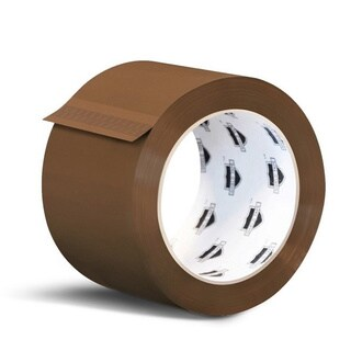 2160 Rolls Brown Tan Carton Sealing Packing Tape Shipping 3-inch x 110 Yards 2 Mil