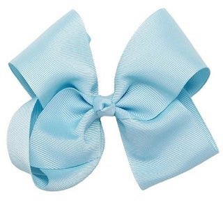 Bon Bonito Girls' Large Alligator Clip Hair Ribbon
