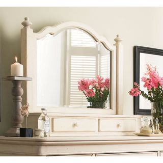 Paula Deen Home The Lady's Storage Mirror in Linen Finish
