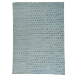 "Handmade Pure Wool Paisley Design Turkish Knot Rug - 10'0"" x 13'9"""