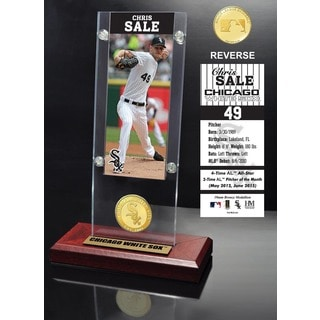 Chris Sale Ticket & Bronze Coin Acrylic Desk Top