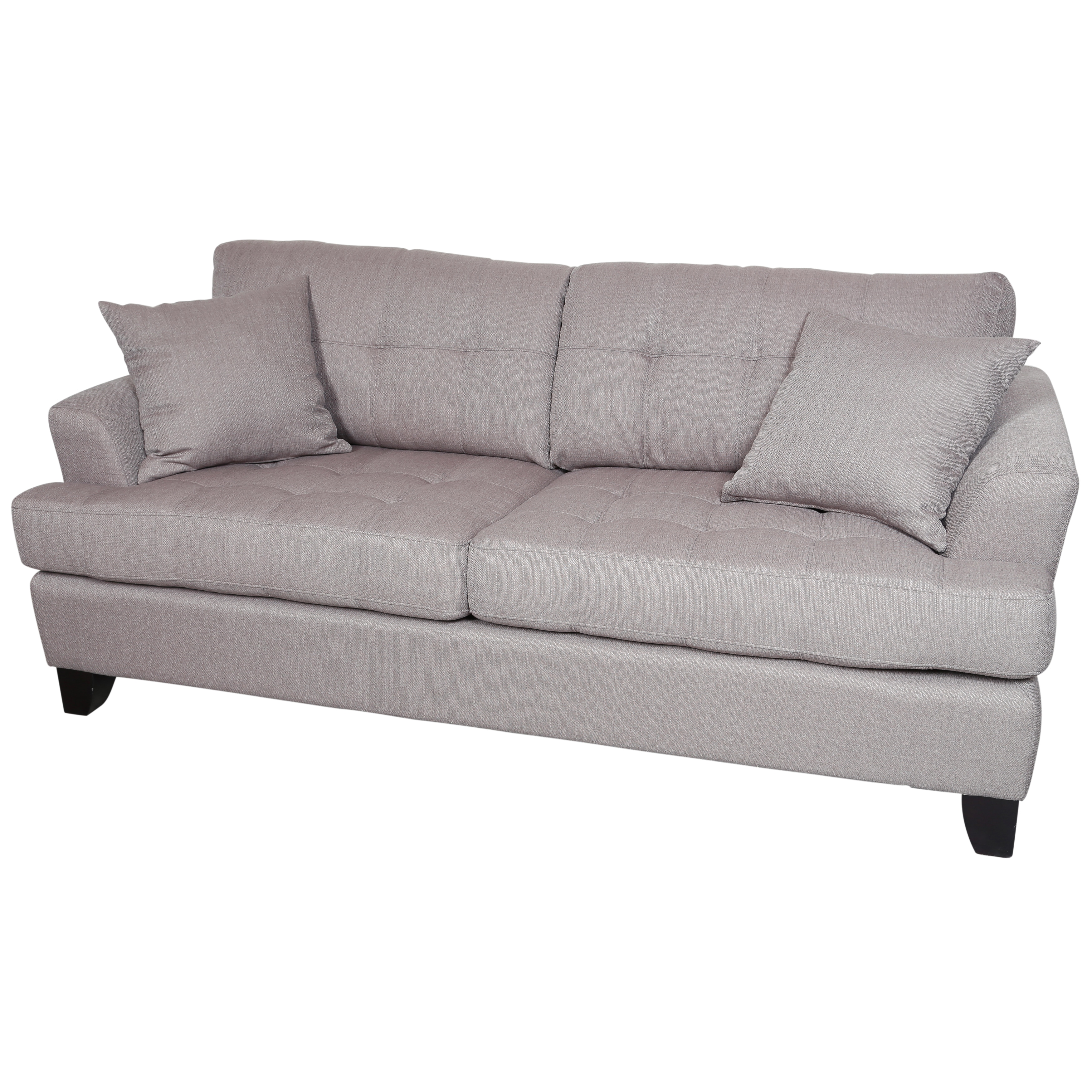 Porter Norwich Putty Taupe Modern Sofa