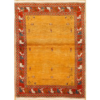 Persian Nomadic Woven Area Rug (3' 7 x 5')